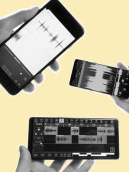Audiobearbeitung mit dem Smartphone
